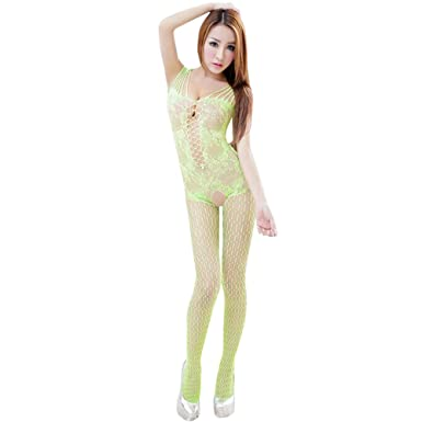 c194ce6eaba Kanpola Sexy Woman Open Crotch Mesh Fishnet Bodystocking Stocking Lingerie  Sexy Outfits for The Bedroom WomensTops Womens Underwear  Amazon.co.uk   Clothing