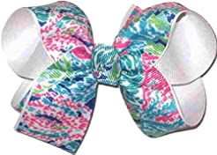 OV-2569M Medium Hair Bow Lilly Pulitzer ...