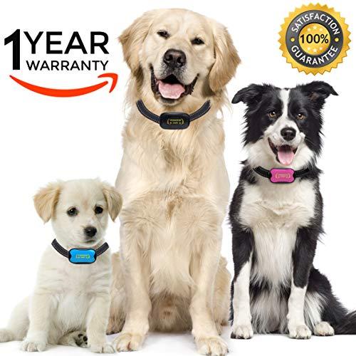 Premium Paws Advanced Intelligence Anti Bark Dog Collar. Stop Dogs Barking Sound & Vibration, Small & Large Dogs, No Shock, No Spray - Dog Bark Collar Canine Psychology E-Book