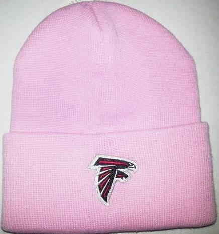 '47 Atlanta Falcons Pink Cuff Beanie Hat - NFL Cuffed Winter Knit Toque Cap