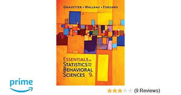 Amazon essentials of statistics for the behavioral sciences amazon essentials of statistics for the behavioral sciences mindtap course list 9781337098120 frederick j gravetter larry b wallnau fandeluxe Choice Image