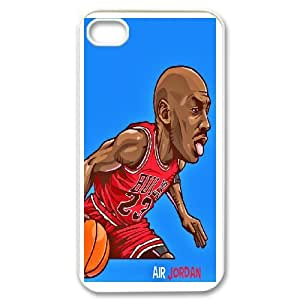 Personalized Creative Michael Jordan For iPhone 4,4S LOSQ785774