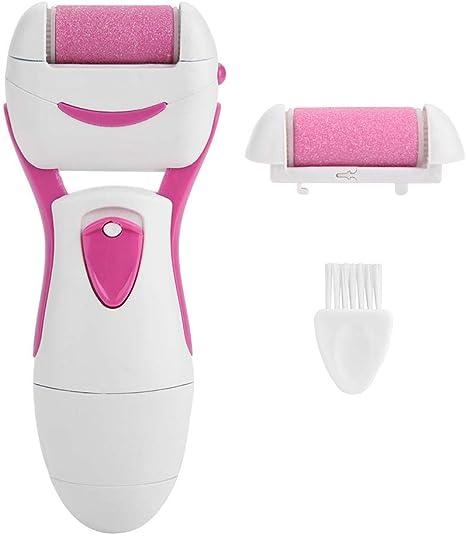 Afeitadora de callos de pie, pedicura electrónica recargable ...
