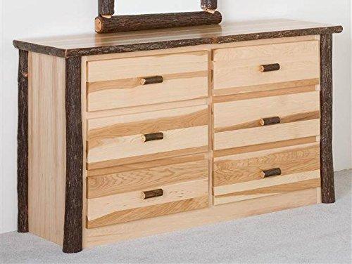 Hickory Log Dresser - 1