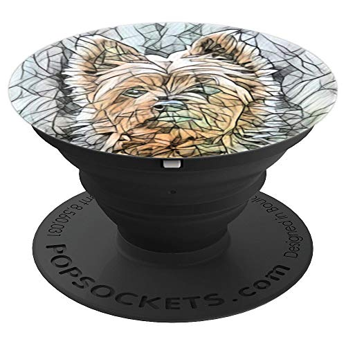 (Australian Silky Terrier Stocking Gift Idea - PopSockets Grip and Stand for Phones and Tablets)
