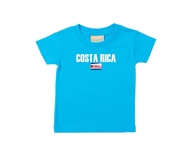 Shirtstown Bebé Niños Camiseta Fútbol Camiseta de País Costa Rica: Amazon.es: Ropa y accesorios