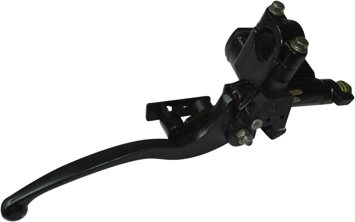 NAVARME 7//8 22mm Left Brake Lever Handle For for 50cc 70cc 90cc 110cc 125cc 150cc 200cc 250cc Kids ATV Dirt Bike Left Hand Hydraulic Brake Master Cylinder Left Side