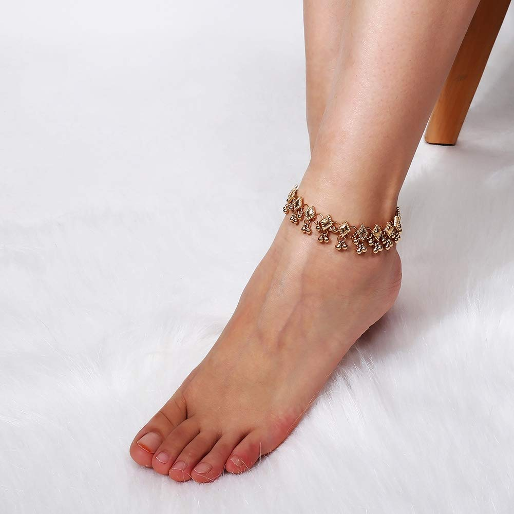 imixlot Beaded Anklets Bracelet Beach Ankle Foot Chain for Women and Teen Girls