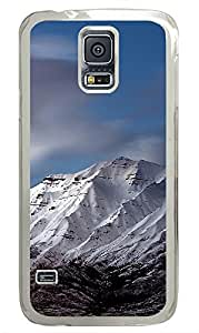 Samsung Galaxy S5 landscapes nature snow mountain 29 PC Custom Samsung Galaxy S5 Case Cover Transparent