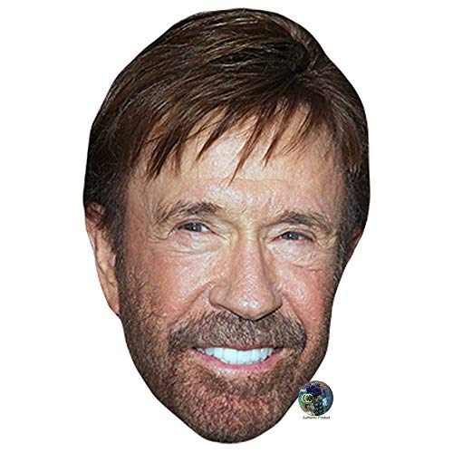 Celebrity Cutouts Chuck Norris Big Head. Larger Than Life mask.]()
