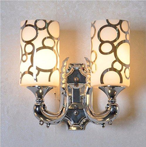 Ehime Feine led Wandleuchte Schlafzimmer Wand Lampe double Wandleuchte minimalistische moderne runde Bett Wandleuchten keine optische Quelle