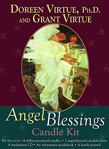Angel Blessings Candle Kit by Hay House