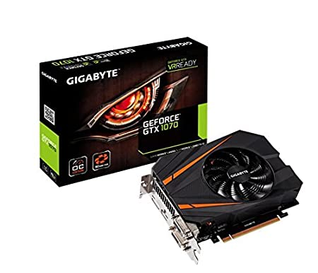 Amazon.com: Gigabyte GeForce GTX 1070 G1 Gaming Video/Graphics Cards GV-N1070G1 GAMING-8GD (Renewed): Computers & Accessories