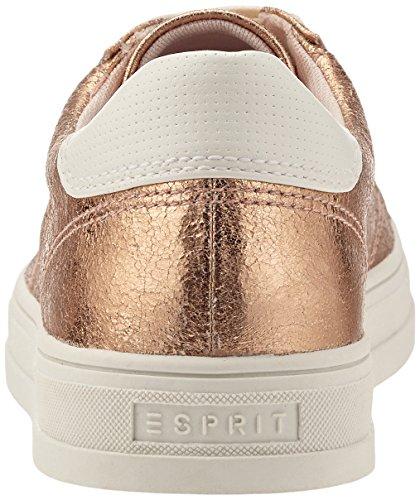Esprit Sidyey Lace Up, Zapatillas para Mujer Beige (685 Nude)