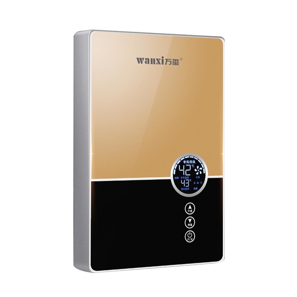 XIAO J Calentador de agua eléctrico instantáneo, termóstato casero ...
