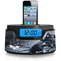 Warner Brothers Batman iPod Clock Radio Dock (50283C-IPH)