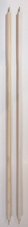 American Dream 42 inch Scroll Rod Pair, Heavy Duty