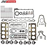 Vincos MLS Full Cylinder Engine Gasket Set w/Head Bolts GS33380 ES72173 (1st Generation)