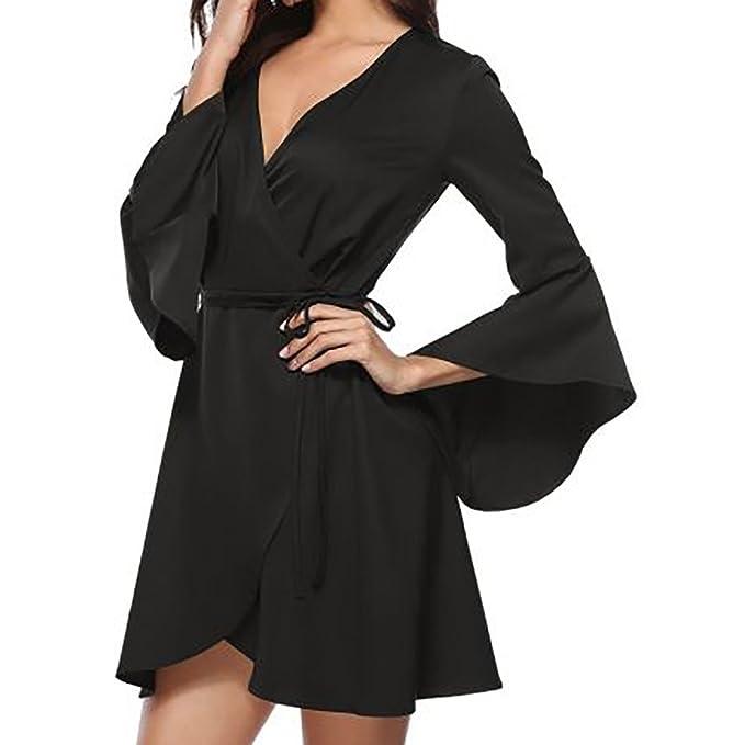 Chaquetas largas Algodón y Lino para Mujer otoño,PAOLIAN Blusas Vestido Monos Negro Chaquetón Camisón