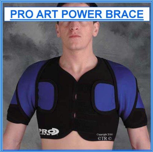 Prolineonline Double Shoulder Brace Support Compressive Neoprene, L/XL. by Prolineonline