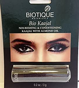 Biotique Bio Kaajal Nourishing & Conditioning Eye Liner With Almond Oil 3gm