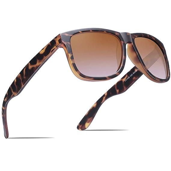 Carfia Gafas de Sol, Mujer Hombre Gafas de Sol Polarizadas Gafas de Sol para Conducir Ciclismo Pesca Esquiar Golf Correr UV400 Protección