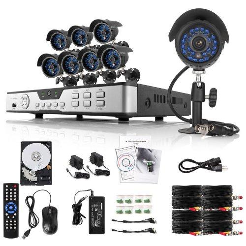 Zmodo Sistema de Vigilancia de 8 Canales con 8 Cámaras de Vigilancia Impermeables y Disco Duro de 1TB: Amazon.es: Bricolaje y herramientas
