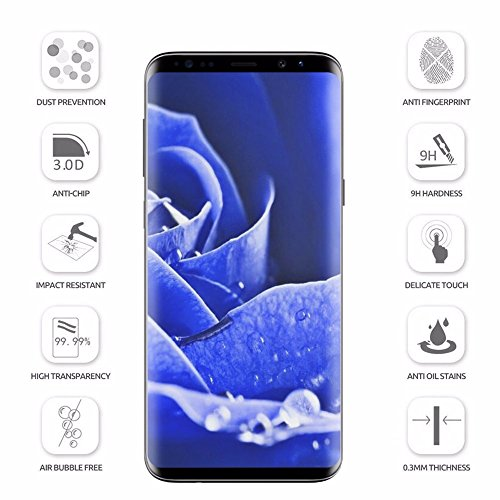 durable modeling LEDNICEKER [2 Pack] Screen Protector for Galaxy S9 Glass, Tempered Glass Screen Protector, Ultra Thin HD Clear,9H Hardness, Crystal Clear, Scratch Resist, [Bubble Free Install] for Samsung Galaxy S9