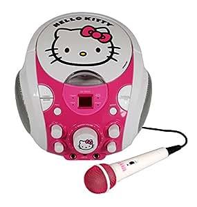 Sakar Hello Kitty - Radio cassette, rosa (importado)
