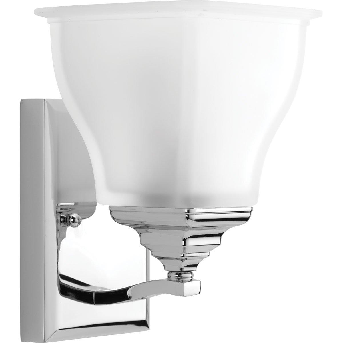 Progress Lighting P2175-15 1-100W Medium Base Bath Bracket, Polished Chrome