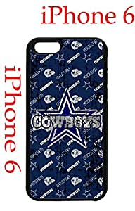 Dallas Cowboys iPhone 6 Plus 5.5 Case Hard Silicone Case by runtopwell