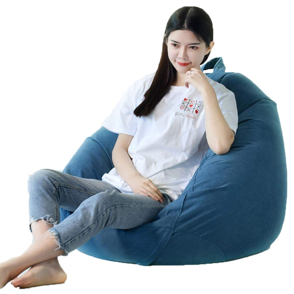 HWY Indoor Bean Bag Gaming Beanbag Chair Zipper Sofa Beanbag Chair Washable by HWY