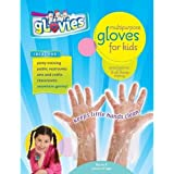 "My Mom Knows Best MKB-100 Glovies Multipurpose Latex-Free Disposable Gloves for Kids (100 Count), Grade: Kindergarten to 3, 8.35"" Height.85"" Wide, 4"" Length"