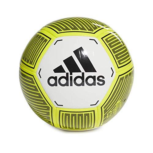 : Starlancer VI Soccer Ball, White/Solar Yellow/Black, 3