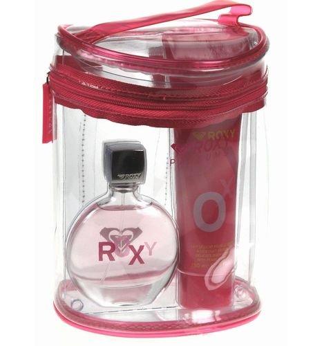 (ROXY by Roxy Gift Set for WOMEN: EDT SPRAY 1.7 OZ & BODY LOTION 5 OZ)