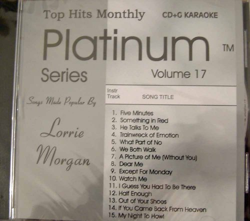 - Top Hits Monthly Platinum - Lorrie Morgan Karaoke