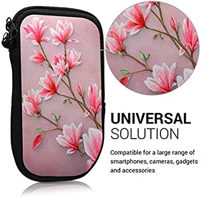 Amazon.com: Kwmobile - Funda de neopreno para Smartphone ...