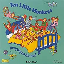 [(Ten Little Monkeys Jumping on the Bed )] [Author: Tina Freeman] [Oct-2001]