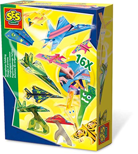 SES Creative Paper Airplane Folding - Paper Airplanes Book Klutz