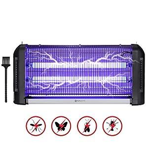 YUNLIGHTS Zanzariera Elettrica, 30W Lampada Antizanzare Elettrica Interno con Luce UV e Cassetto Raccogli, Lampada… 4 spesavip