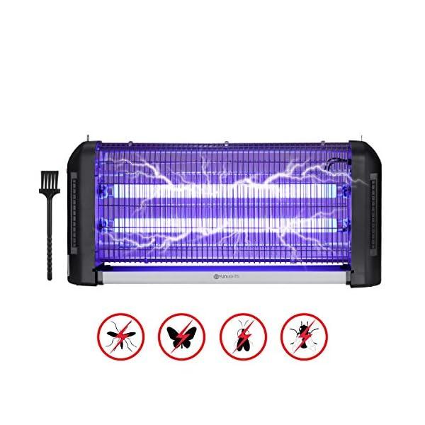 YUNLIGHTS Zanzariera Elettrica, 30W Lampada Antizanzare Elettrica Interno con Luce UV e Cassetto Raccogli, Lampada… 1 spesavip