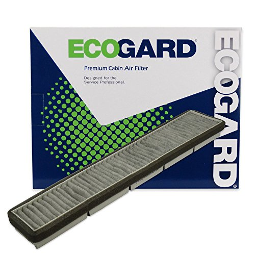 ECOGARD XC25447C Cabin Air Filter with Activated Carbon Odor Eliminator - Premium Replacement Fits Nissan Quest / Mercury - Villager Air Mercury
