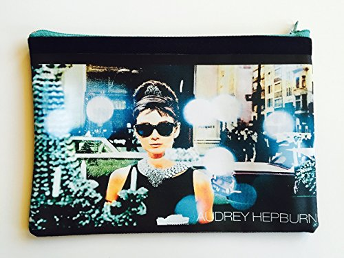 Audrey Hepburn Breakfast at Tiffany's Pencil Case/Pouch (multipurpose) by Lanas&Co.
