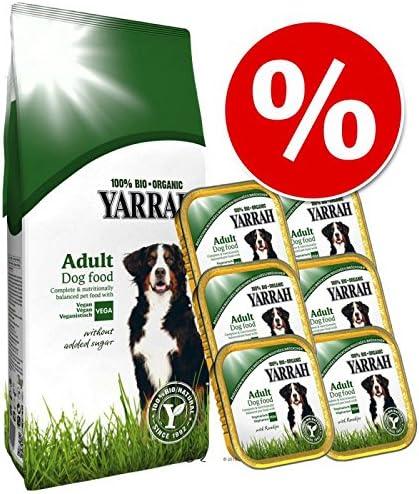 Juego vegetariano. 10 kg + 6 x 150 g Bio Yarrah Juego de comida ...