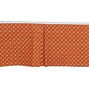 Bacati - Playful Foxes Orange/grey Crib/toddler Bed Skirt (Orange Arrows Print)