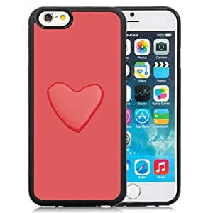 New Beautiful Custom Designed Cover Case For iPhone 6 4.7 Inch TPU With Love Heart Water Background Phone Case