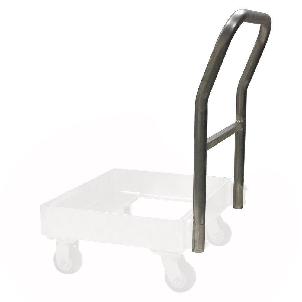 UltraSource Double Tray Aluminum Dolly 22.75 Width x 10 Height x 39 Length