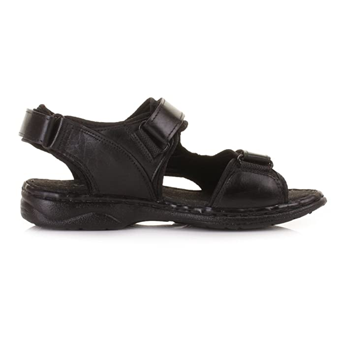 cc9a493ba84 Mens Real Leather Outdoor Summer Sandals  Amazon.co.uk  Shoes   Bags