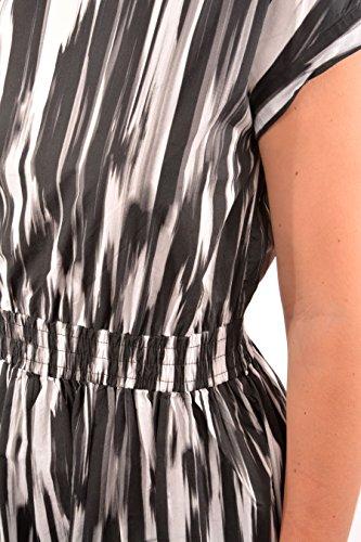 Belted Wwabi0385 Vestito Po90 W's 1554 Woolrich Donna Nero Popeline Dress 7w1q00