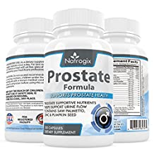 #1 Best Prostate Supplement - Saw Palmetto + 30 Herbs, Vitamins, Minerals to support Prostate Health - Reduce Frequent Urination - Fight Hair Loss - Libido - All Natural Formula (100 Capsules) - Dietary Supplements